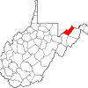 Mineral County WV Map