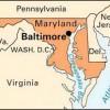 Baltimore On Map