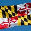Maryland Flag Waving