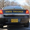 Maryland State Police Car Rear