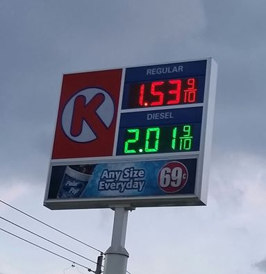 Circle K Gas Prices >> Wcbc Blog Archive Local Gas Prices As Low As 1 53