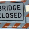 bridge closed 1