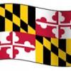 MARYLAND FLAG 2