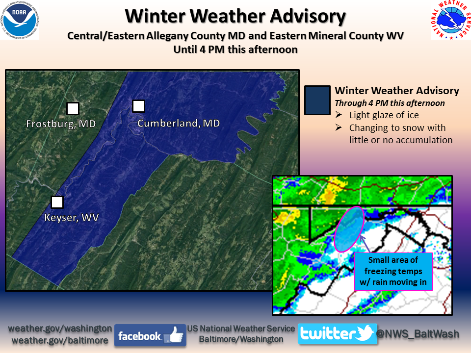 Snow expected to turn to sleet, freezing rain this morning