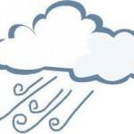wind with rain