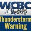 WCBC Block Thunderstorm Warning