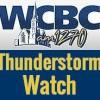WCBC Block Thunderstorm Watch
